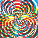 Psychedelic Tiger poster