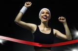 Fototapeta konkurencja - zwycięski - Poza Pracą / Sporty