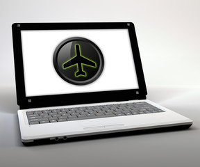 "Mobile Thin Client / Netbook ""Airplane / Airline"""