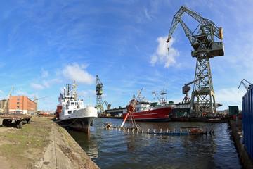 Shipyard in Gdansk