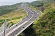 pont à haubans, route des Tamarins, île de la Réunion