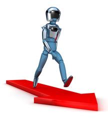 Robot flecha