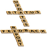 Crossword Feedback Report Status Updates