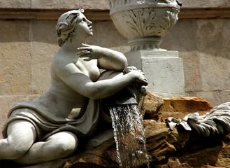 Brunnenfigur Schloss Schönbrunn, Wien