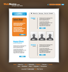 Morder and Futuristic Style WebSite Template
