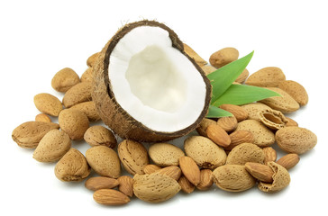 Coconut and almond