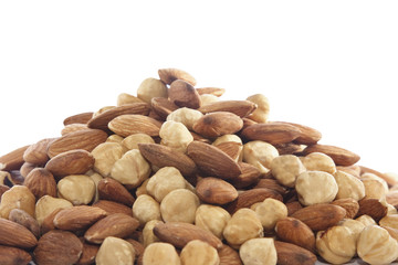 Almond and huzelnut