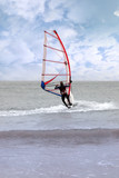 windsurfing in a storm