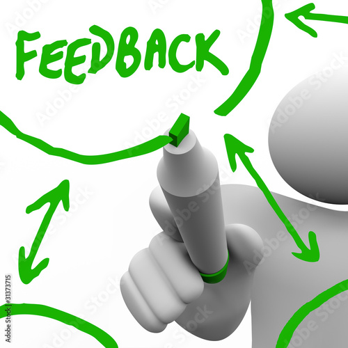 Feedback - Recording Input from Others for Improvement