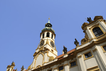 Loreto Church in Prague in the Czech republic