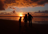 Children and Sunset