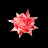 ribbon handcraft as flower poster