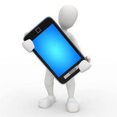 Kiko Telefono pantalla azul