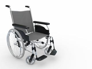 Wheelchair. 3d