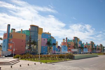Bloques de viviendas en Marina de Albufeira, Portugal