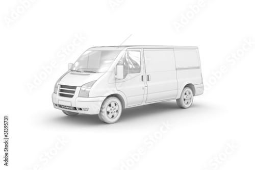 Transporter (freigestellt weiß)