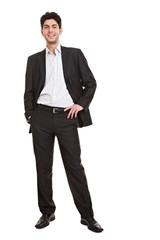 Junger Geschäftsmann im Anzug