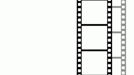 Animated filmstrip