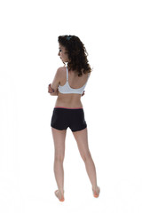 Sporty Girl rear view