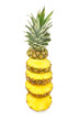cut ananas