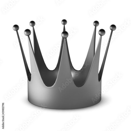 3d render of crown