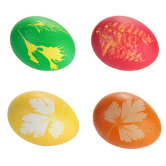 Easter Eggs with Floral Prints