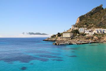 Cala Dogana e punta pesce a Levanzo - Sicilia