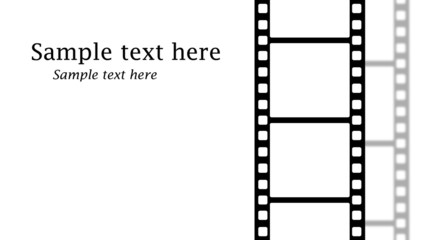 Filmstrip With Copy Space
