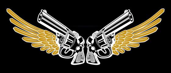revolver wing black