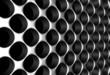 Aluminium silver fence