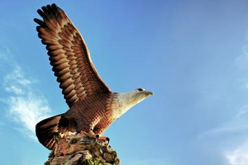 Eagle Statue at Langkawi Island