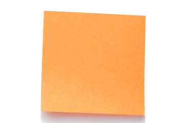 Orange post-it