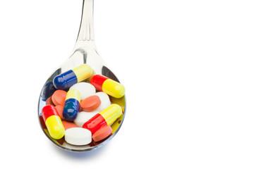Spoon full of color medicine