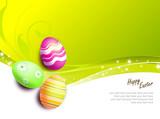 Fototapety uova di pasqua decorate