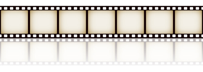 Filmstrip With Reflection