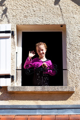 petit coucou par la fenêtre