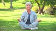 Mature woman doing Yoga