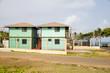 matching box buildings seaside Corn Island Nicaragua