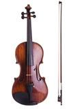 violin music string art instrument bow white poster