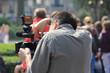 Réglages d'un caméraman