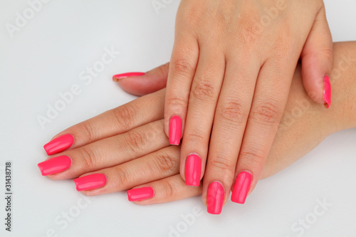 fingernails manicure