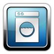 "Glossy Square Icon ""Laundromat"""