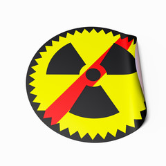 No Nuclear Power sticker