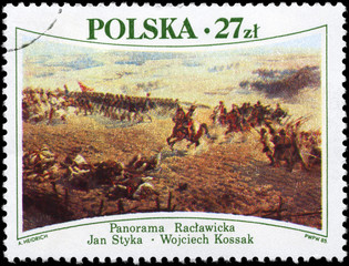 POLAND - CIRCA 1985 Battle of Raclawice