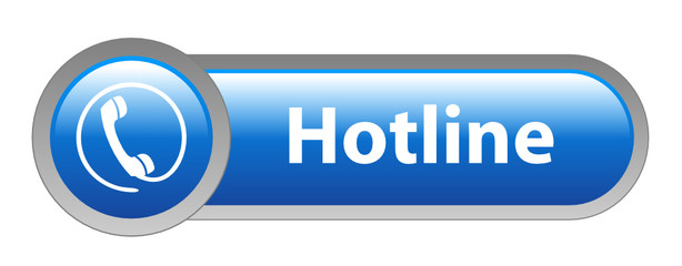 HOTLINE Web Button (customer service call us support helpline)