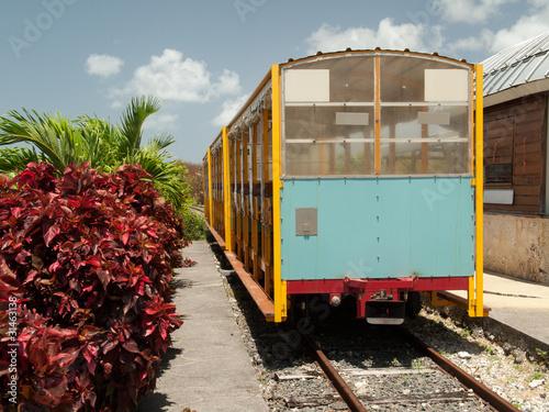 Petit train touristique de la sucrerie de Beauport, Guadeloupe