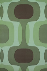 green motif wallpaper