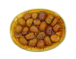 Dish Roasted Whole Chestnuts