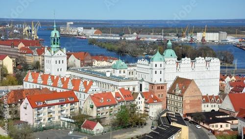 Zdjęcia na płótnie, fototapety, obrazy : Zamek Książąt Pomorskich w Szczecinie