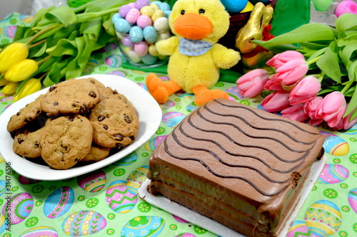 Easter Desserts Made of Chocolate